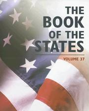 Cover of: The Book of the States 2005 (Book of the States)
