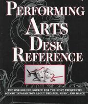Cover of: New York Public Library Desk Reference to the Performing Arts | New York Public Library.
