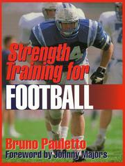 Cover of: Strength training for football | Bruno Pauletto