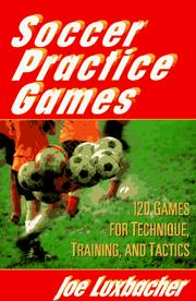 Cover of: Soccer practice games