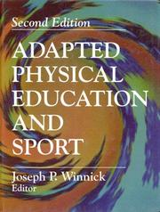 Cover of: Adapted physical education and sport |