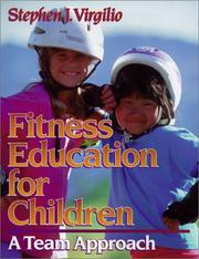 Cover of: Fitness education for children