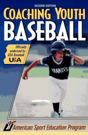 Cover of: Coaching youth baseball