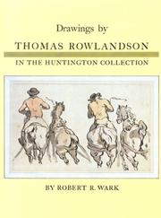 Cover of: Drawings by Thomas Rowlandson in the Huntington collection