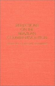 Cover of: Reflections on the Brazilian counter-revolution | Florestan Fernandes