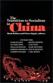 Cover of: The Transition to socialism in China