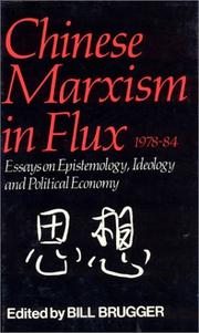 Cover of: Chinese Marxism Flux
