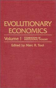 Cover of: Evolutionary economics