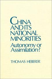 Cover of: China and Its National Minorities | Thomas Heberer