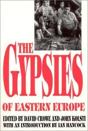 Cover of: The Gypsies of Eastern Europe |