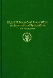 Cover of: High Efficiency Coal Preparation | S. K. Kawatra