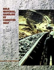 Cover of: Bulk Material Handling by Conveyor Belt I