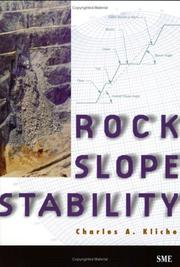 Cover of: Rock Slope Stability
