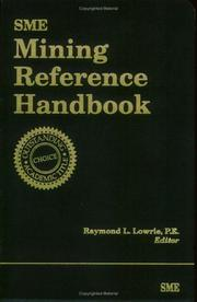 Cover of: SME Mining Reference Handbook