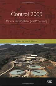 Cover of: Control 2000