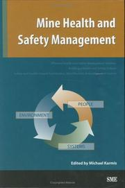 Cover of: Mine Health and Safety Management