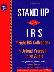 Stand up to the IRS by Frederick W. Daily