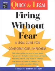 Cover of: Firing without fear | Barbara Kate Repa