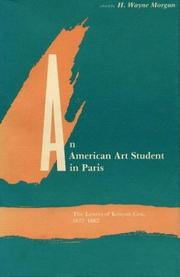 Cover of: An American Art Student in Paris
