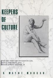 Cover of: Keepers of culture