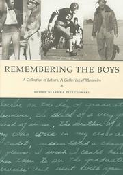 Cover of: Remembering the Boys