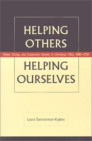 Cover of: Helping Others, Helping Ourselves