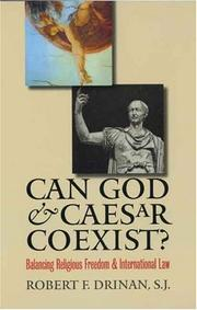 Cover of: Can God and Caesar Coexist? | Robert F. Drinan