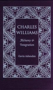 Cover of: Charles Williams