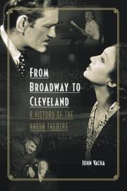 Cover of: From Broadway to Cleveland