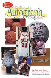 Cover of: All sport autograph guide