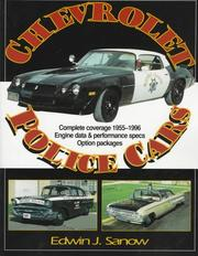 Cover of: Chevrolet police cars | Edwin J. Sanow