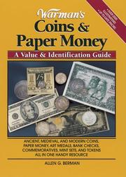 Cover of: Warman's coins & paper money