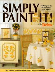 Cover of: Simply Paint It! With Delta