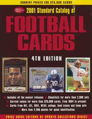 Cover of: 2001 Standard Catalog of Football Cards (Standard Catalog of Football Cards, 2001)