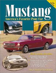 Cover of: Mustang, America's Favorite Pony Car