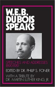 W.E.B. Du Bois speaks by Du Bois, W. E. B.