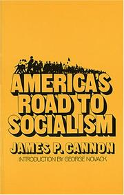 Cover of: America's road to socialism