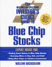 Cover of: The Macmillan Spectrum Investor's Choice Guide to Blue Chip Stocks (Investor's Choice Series)