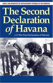Cover of: 2nd Declaration of Havana