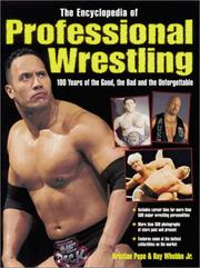 Cover of: The Encyclopedia of Professional Wrestling | Kristian Pope, Ray, Jr Whebbe, Ray Whebbe