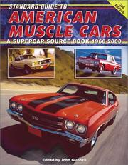 Cover of: Standard Guide to American Muscle Cars