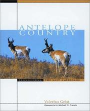 Cover of: Antelope Country