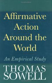Cover of: Affirmative Action Around the World