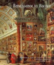 Cover of: Renaissance to Rococo