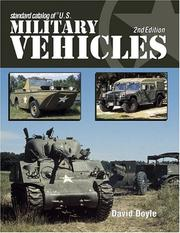 Cover of: Standard catalog of U.S. military vehicles | David Doyle