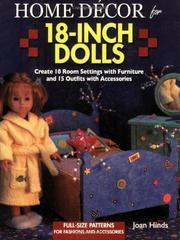 Cover of: Home décor for 18-inch dolls