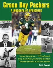 Cover of: Green Bay Packers | Eric Goska
