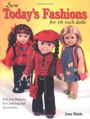 Cover of: Sew today's fashions for 18-inch dolls