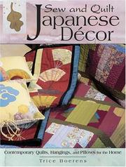 Sew and quilt Japanese décor