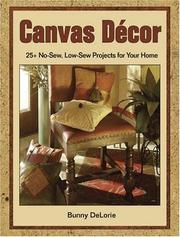 Cover of: Canvas Decor